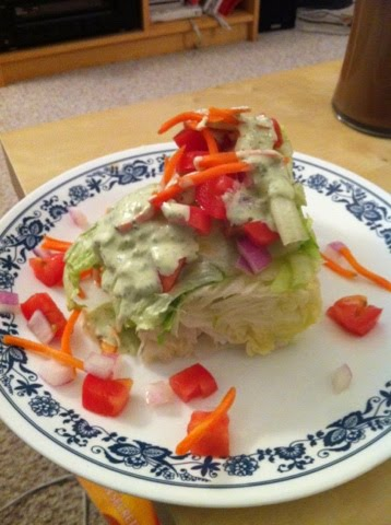 Queen City Cooking A Barefoot Wedge Salad