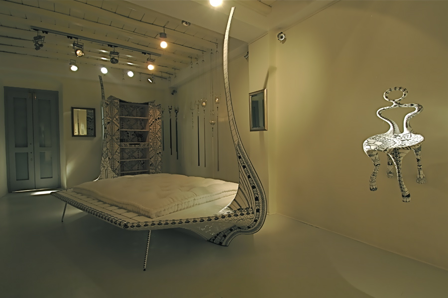 Sculpture bateau lit : eridan le lit design à rêver (photo kamillo