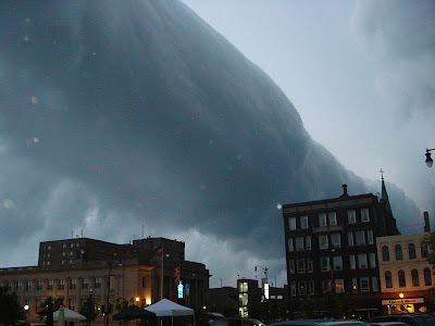 غرائب تشكلات الغيوم بصور