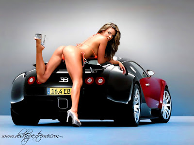 cars and hot girls