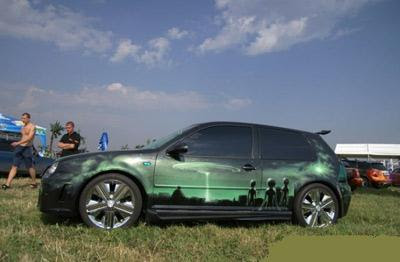 New cool car paint jobs for New paint car