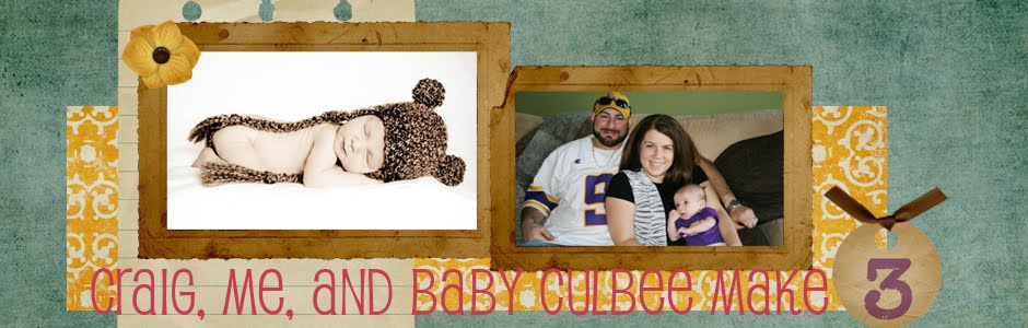 Craig, Me, and Baby Culbee Make Three