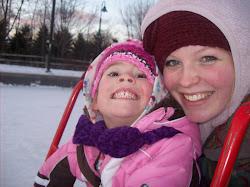 Ella and I ice skating :)