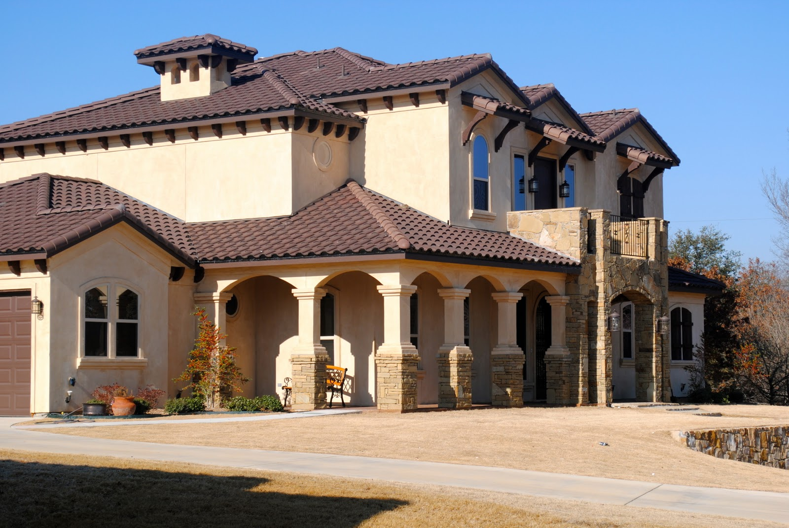 Trinity classic homes exteriors for Old world classic homes