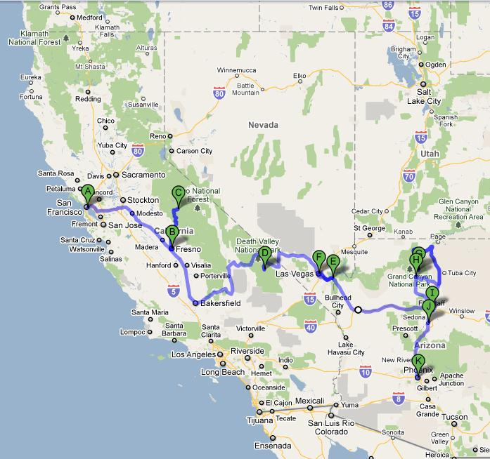 How far is San Diego from Fresno - driving distance
