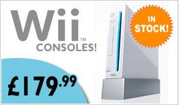 Nintendo Wii - In Stock