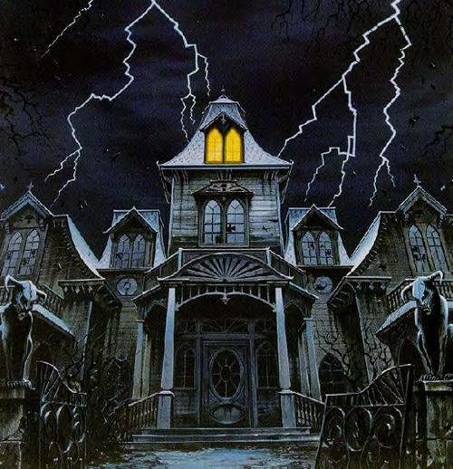 parque de diversiones  Haunted-house