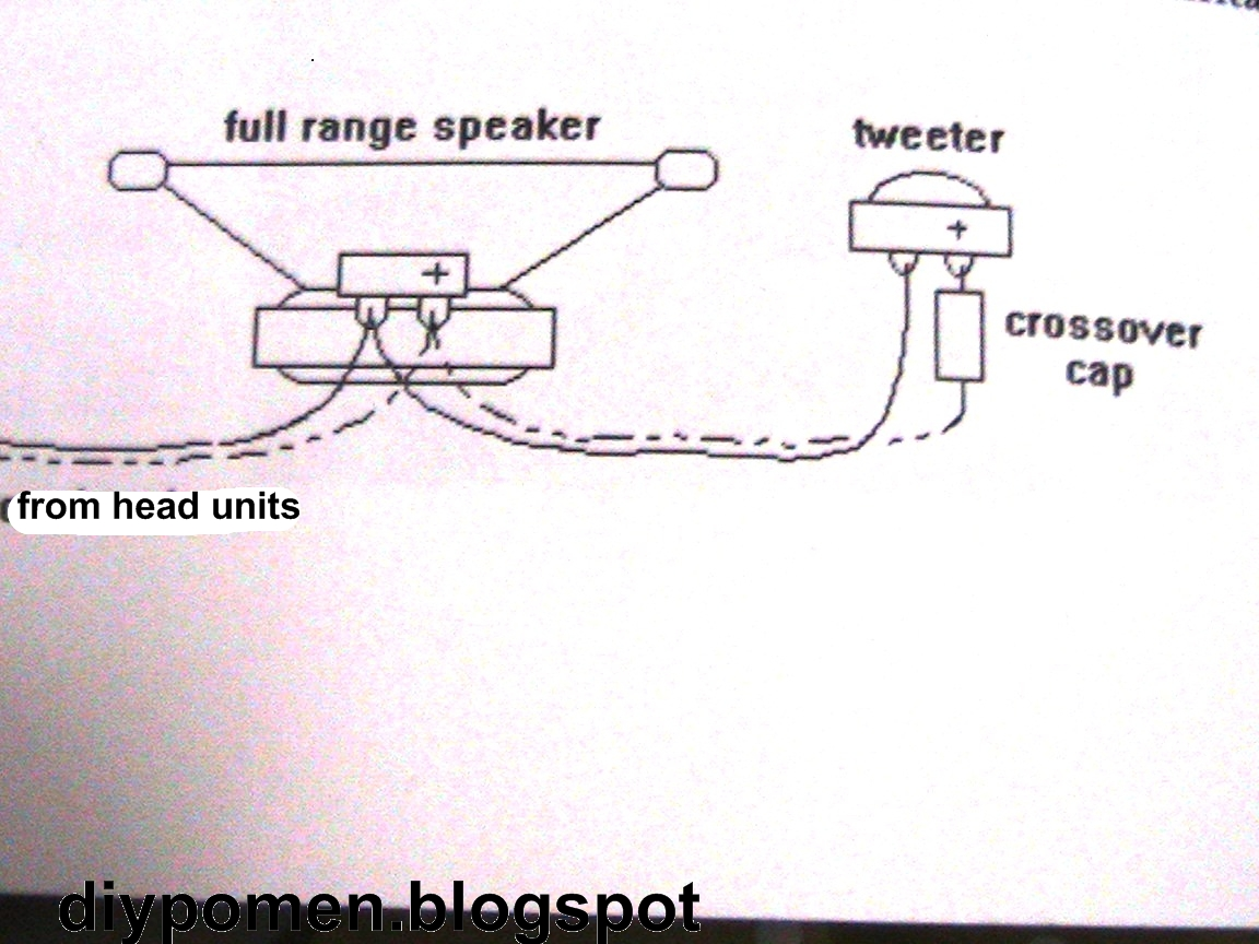 Car tweeter speaker wiring diagram free engine image