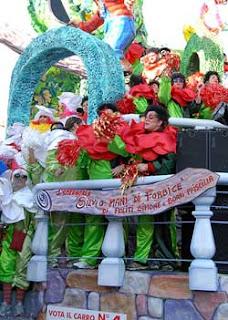 Carnival parade in Viareggio