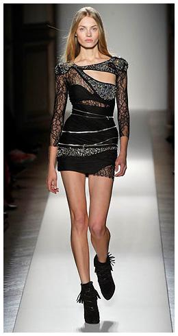 Little Black Vintage Lace Dresses by Terani