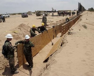 "should a wall be built between the us and mexico The 3 biggest issues with trump's idea to build the ever-debated ""wall"" between the us and mexico  wall is a terrible idea by  can it be built,."