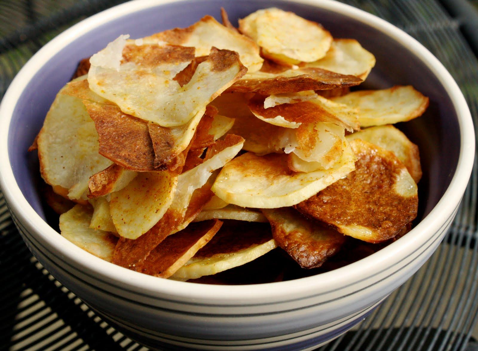 Приготовление чипсов в домашних условиях в духовке