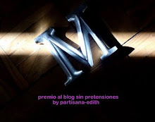 Premio al mejor Blog sin pretensiones by Partisana-Edith