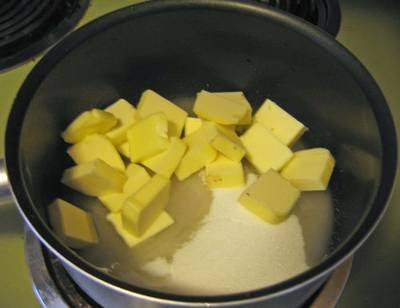 Combine Ingredients in a Large Saucepan