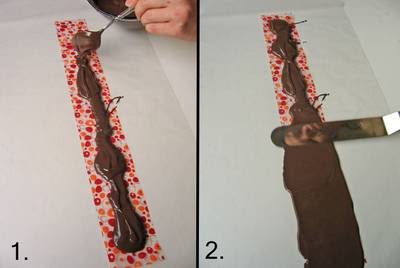 Spread the Chocolate onto the Sheet