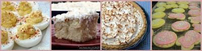 Strawberry No Bake Cheese Cake + More Easter Recipes.