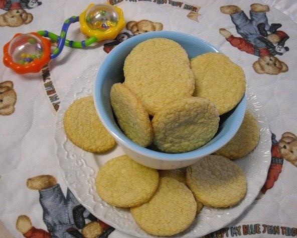 Teething cookies for infants