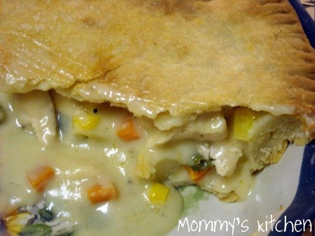 ... hen: Step-by-step Chicken Pot Pie/Pies with a Cream Cheese Crust