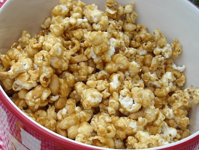 ... Kitchen - Recipes From my Texas Kitchen: Homemade Cracker Jack Popcorn