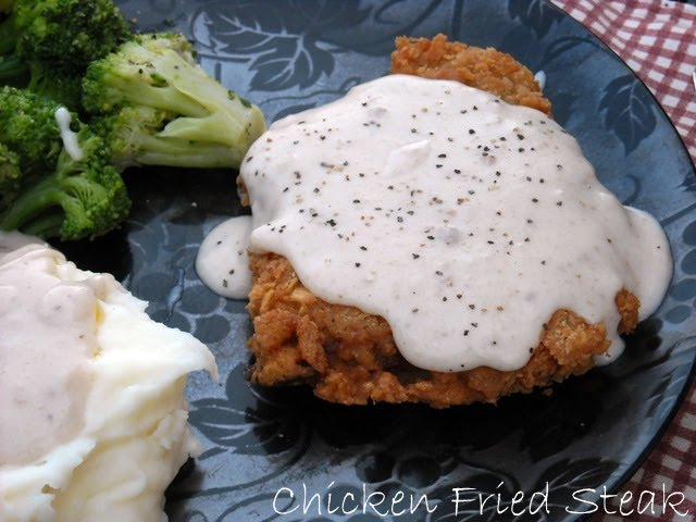 ... : Chicken Fried Steak W/ Cream Gravy & {Thank You Mr. Walmart Man