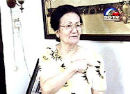 Nurmala Sitompul Panjaitan (Anak S. Dis), ibu dari HKBP Christine Natalina Panjaitan