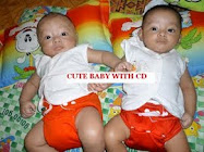 Cute Baby With Cd Contest (menang)