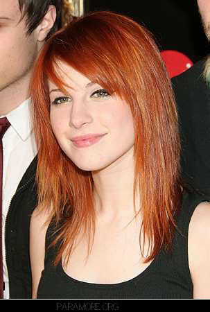 grease hairstyles. hayley williams hairstyle 2010