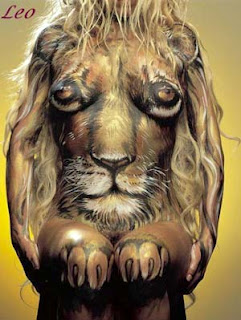 Zodiak Leo Tatto Ful Body