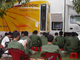 Thư viện lưu động phục vụ  Sư đoàn 9