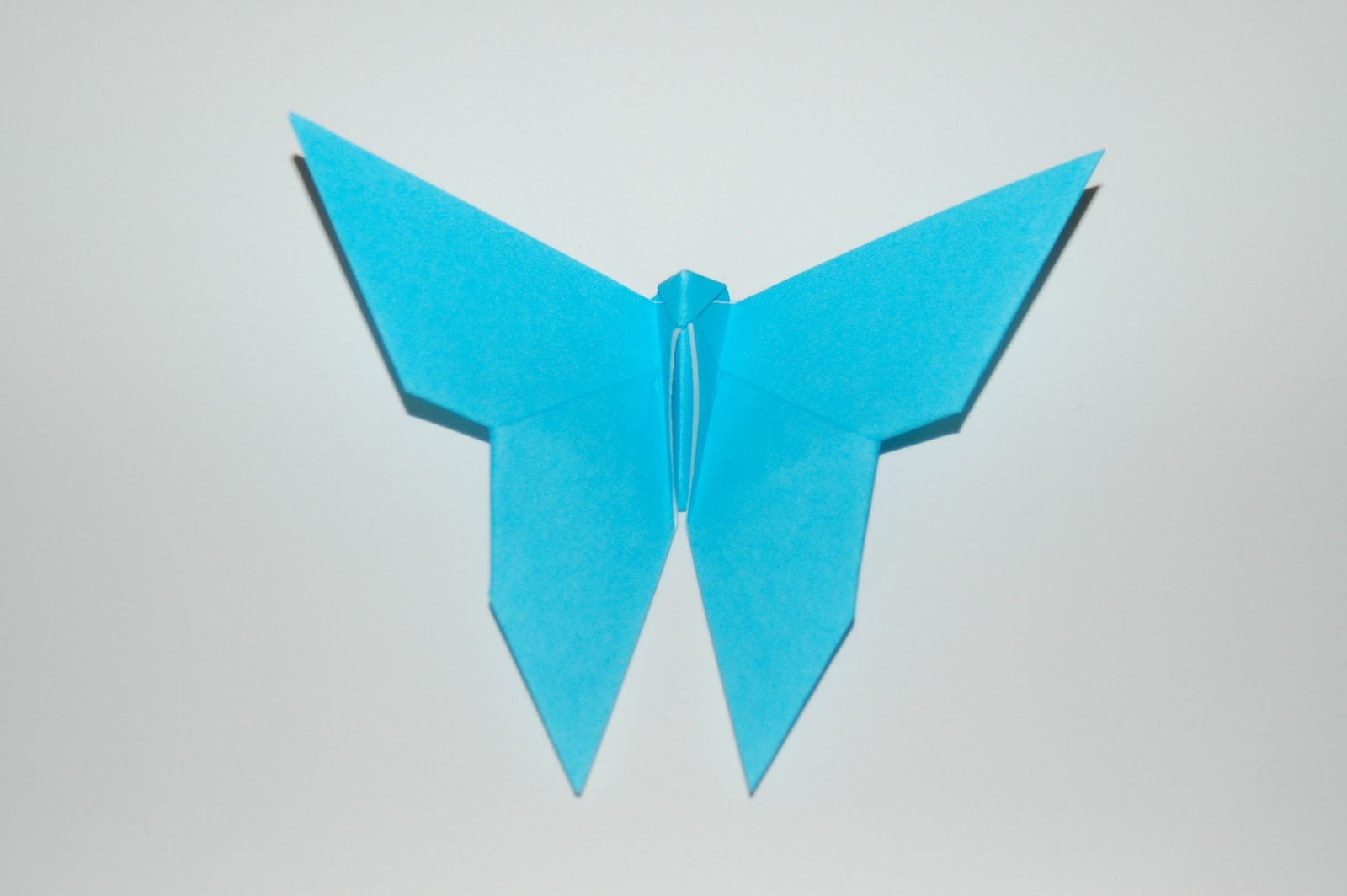 Living the Craft Life: Simple Origami Butterfly - photo#8