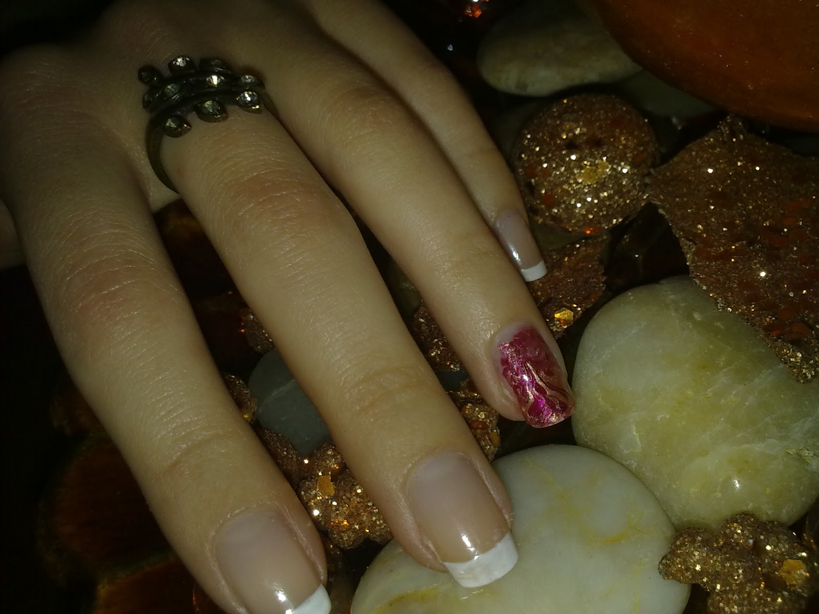 NOTW: Festive Marbeling + Nail Update - Every Beauty Addict\'s Bible