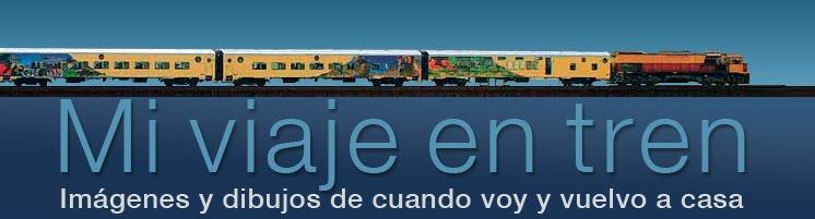 Mi viaje en tren.