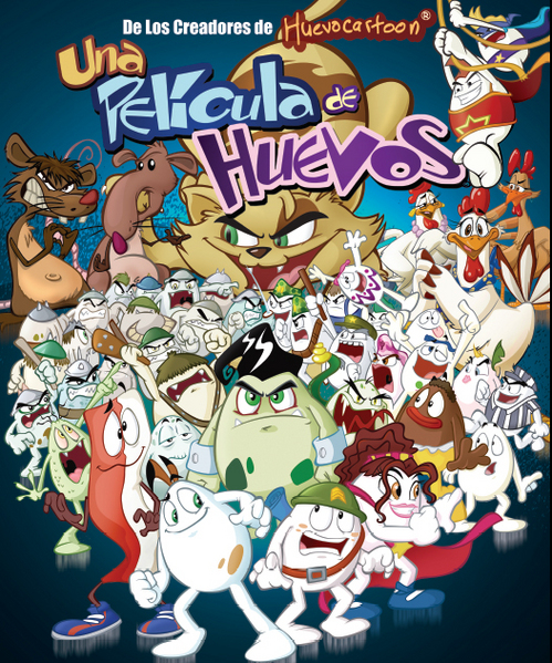 videos de los huevos cartoon: