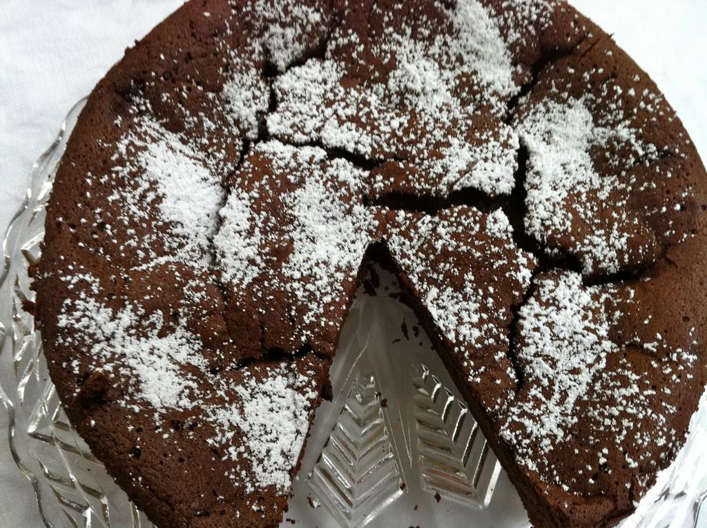 Pin Flourless Dark Chocolate Cake Perhaps The Ultimate Recipe Cupcakes ...