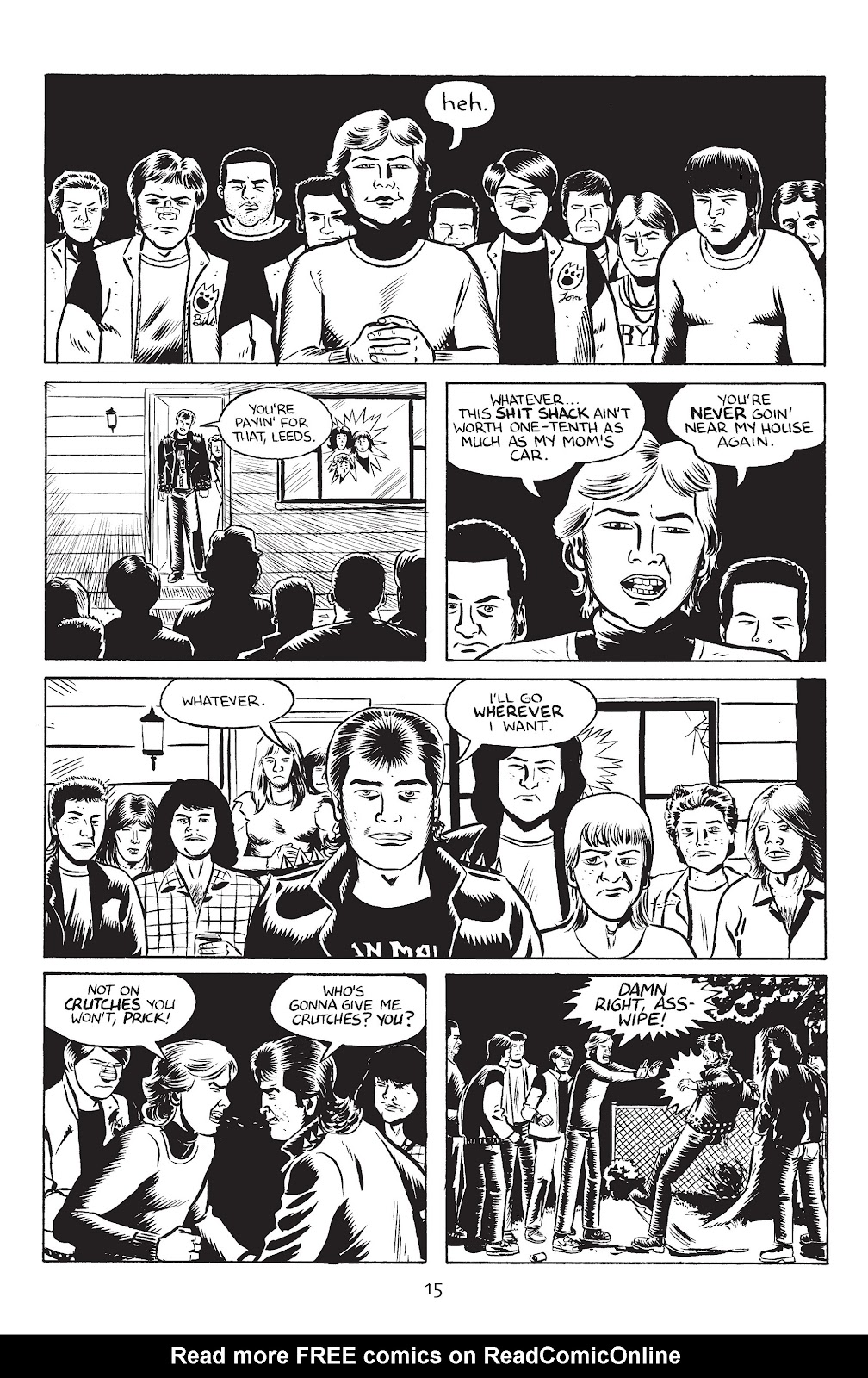 Stray Bullets Issue #33 #33 - English 17