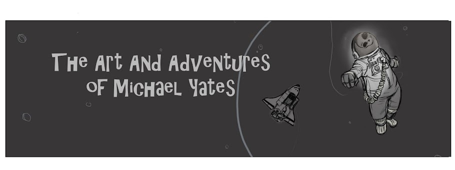 The Art and Adventures of Mike Yates