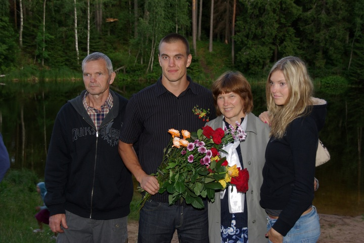 My family on brother´s baptism