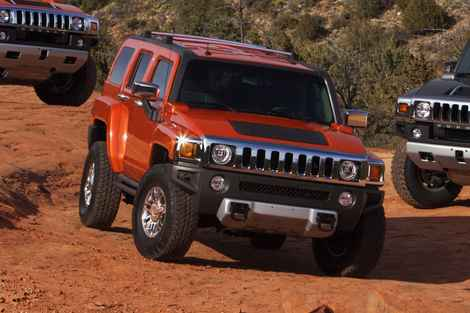 2011 Hummer H3 Suv Photos