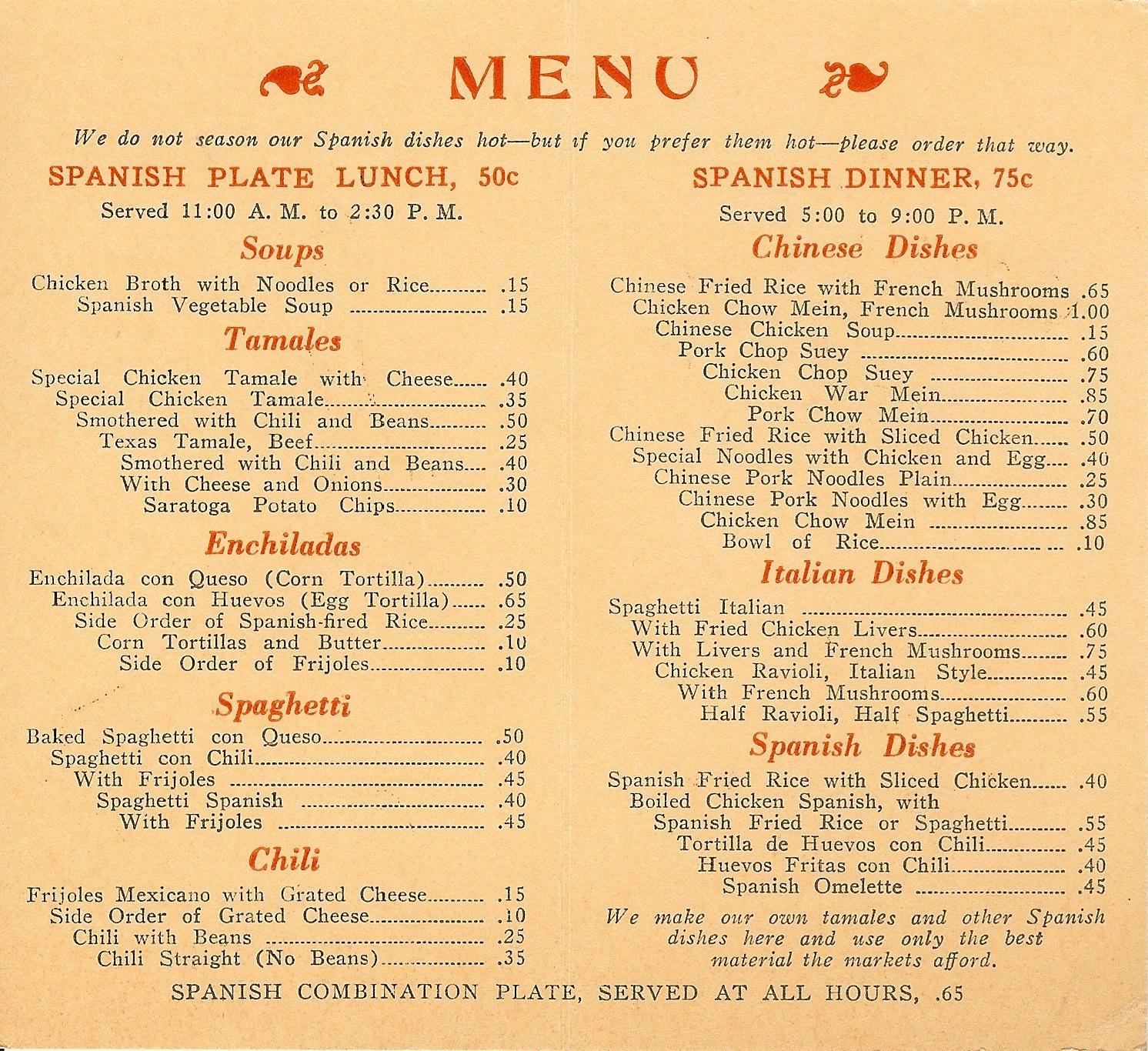 oregon rediviva: pan-euro-american food, seattle, 1925