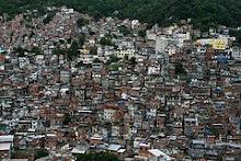 Favela Rocinha (Rio de Janeiro) listopad 2008
