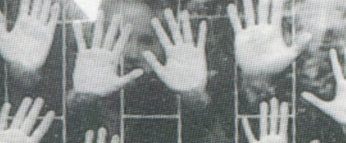 alunos UDESC, Florianópolis, 1999