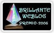 Premio Brillante Blog, otorgado por Wilhemina Queen