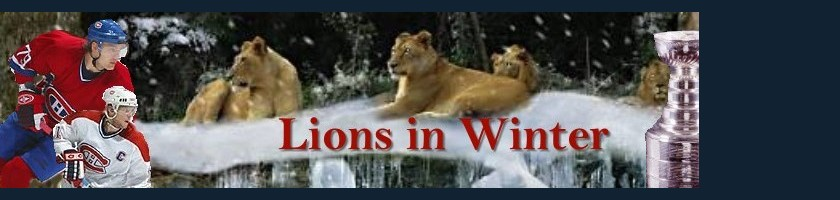 Lions in Winter: A Montreal Canadiens Blog for Serious Habs Fans