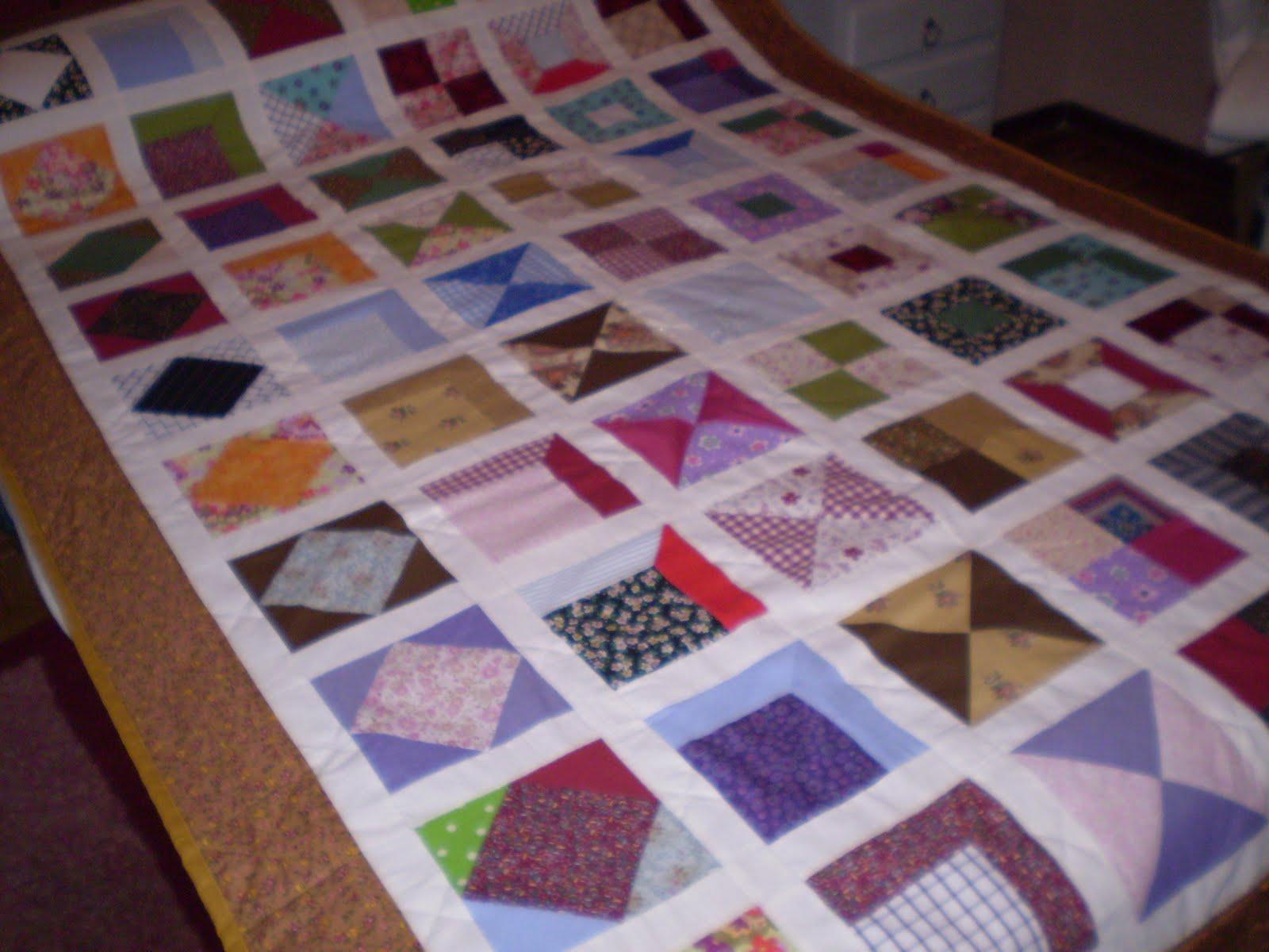 Artesania y pintura decorativa - Colchas de patchwork modernas ...