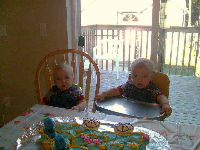 The Twins First B-DAy