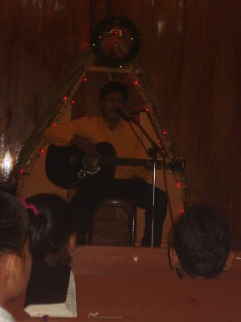 Singel di Dalam Natal SMP N 1 Sibolga