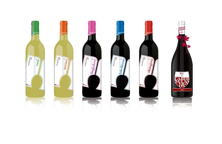 Yazgan Şarapları için etiket tasarımı