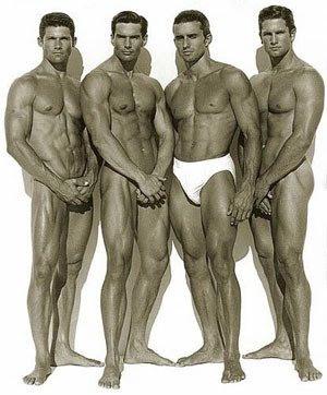 men naked