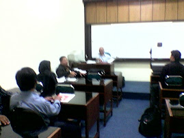 Kenangan Suasana Kuliah (Kls. A. 13 org Mhs) Bersama Prof. Dr. Sri Sumantri,SH. Th. 2007