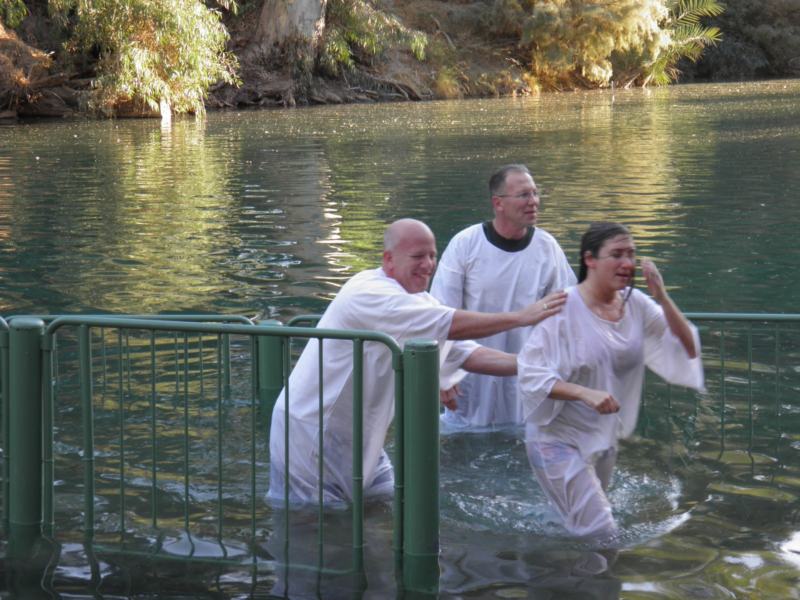 Yahweh Sisters Baptism At The Jordan River